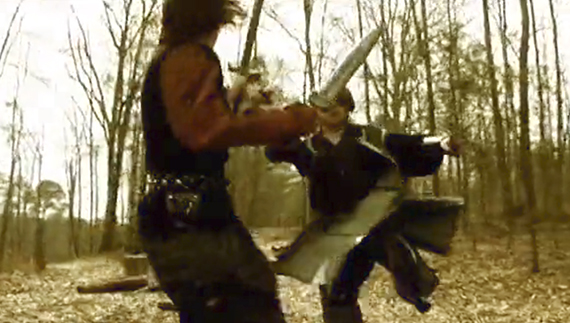 LARP Forest Battle