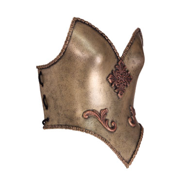 Womens breast plate