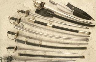 Swords, Shields, Armor, Licensed movie props manufacturer