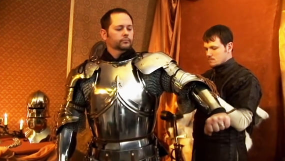 Arming a Medieval Knight